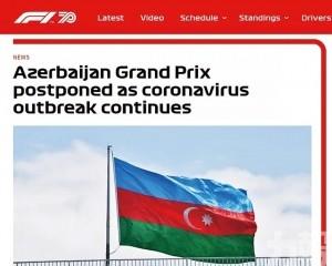 F1阿塞拜疆站因疫情而延期
