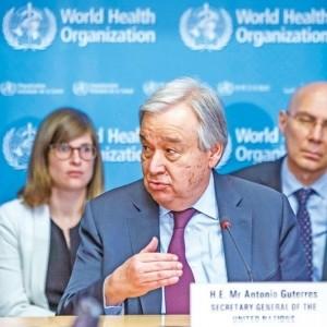 聯合國秘書長:或釀成全球衝突