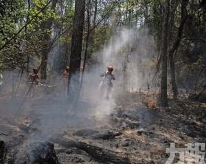 數千消防員緊盯防復燃