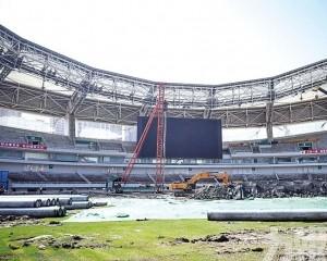 中國世界級球場未來幾年陸續建成