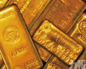 黃金股急升