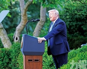 特朗普威脅軍事鎮壓