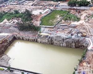 環保局將用建築廢料回填