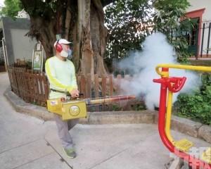 市政署增轄下設施滅蚊頻次