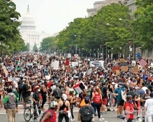 20萬人反警暴  華盛頓爆史上最大示威