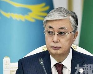 哈薩克總統府提升防疫
