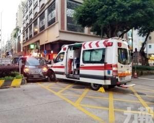 兩救護員受傷 孕婦男家屬意識模糊