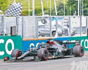 咸美頓第8次稱霸F1匈牙利站