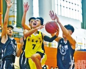 粵華躋身學界籃球男A決賽鬥鏡平