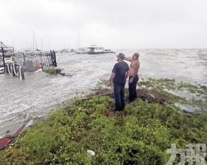 今年首個颶風登陸德州