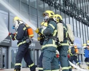 珠澳跨境消防救援聯合演練