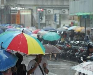 氣象局料今仍有驟雨雷暴