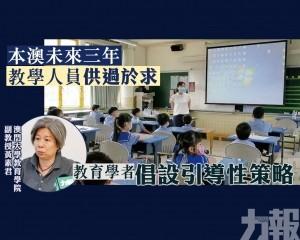 教育學者倡設引導性策略