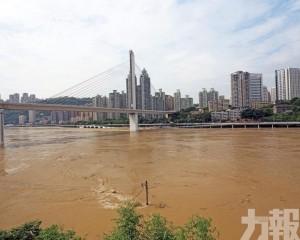 重慶多條沿江幹道被淹
