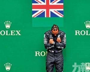 咸美頓F1比利時站輕鬆摘冠軍