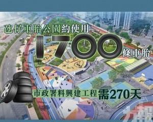 市政署料興建工程需270天