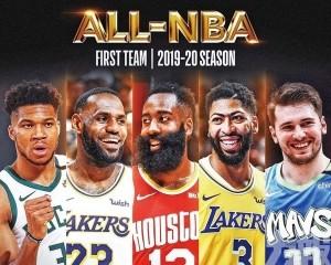 入選NBA一隊創歷史