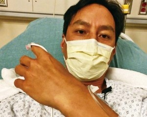 吳彥祖盲腸炎復發入院