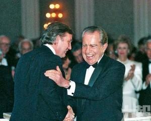 特朗普與尼克遜十年通信曝光