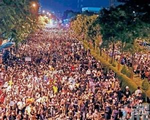 示威組織促巴育三天內下台