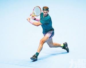 拿度添姆ATP年終賽旗開得勝