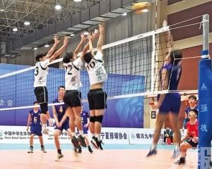 學界男排無緣全學運預賽8強