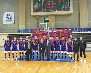 廣東再贏澳門粵澳盃籃球賽稱霸