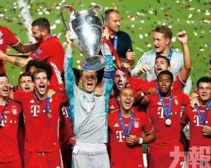 拜仁5將入選歐協最佳陣容