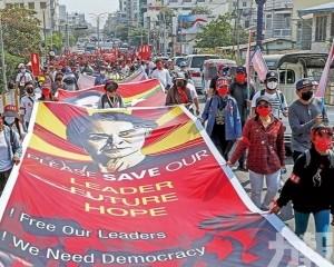 緬甸軍方否認發動政變