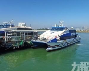 氹仔往返九洲港航線下周一起航