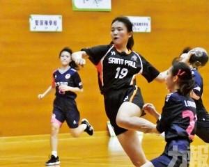 聖保祿A三育爭學界手球女A冠軍