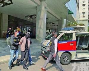 酒店房內遭五人劫去近30萬