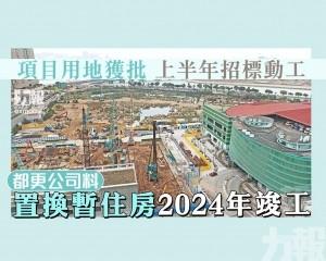 都更公司料置換暫住房2024年竣工