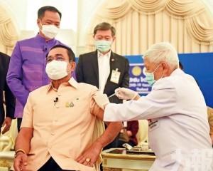 總理巴育帶頭接種