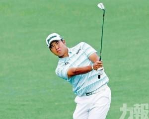 松山英樹躍升美國高球大師賽榜首