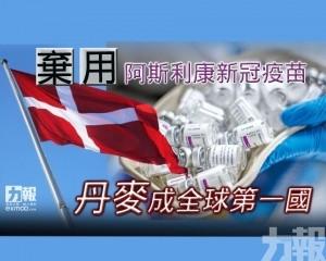 丹麥成全球第一國