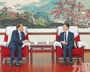 韓正:要促進澳門經濟多元發展