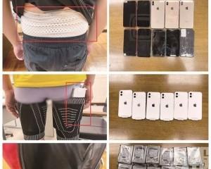 海關再破三宗偷運手機及電腦硬盤