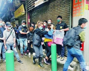 司警昨早掃蕩行動拘56人