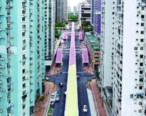 氹仔基馬拉斯大馬路空中走廊竣工