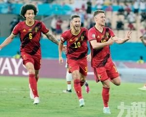比利時16強巧摘「葡萄」