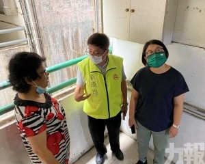 宋碧琪關注祐漢周邊環境衛生問題
