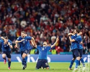 意大利時隔9年重返歐國盃決賽