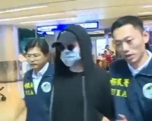 潛逃台灣被捕 押返美監獄