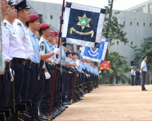 256名學員將投身保安部隊