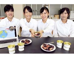 日學生研太空版鯖魚罐頭獲認證