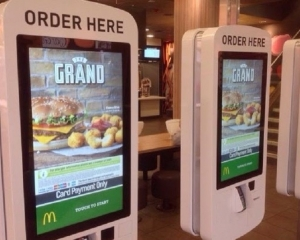 英麥當勞自助點餐機驚現糞便細菌