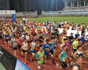 銀河娛樂國際馬拉松起步!
