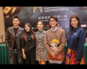 得獎者鄭愷笑言國際影壇上仍是新人