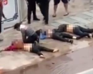 汕尾私家車撞4電單車5死傷